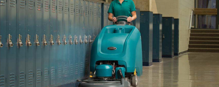 Tennant: Floor Care Solutions for Education