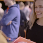 Isabel Lucas lends hand to support La Trobe's Aspire Program