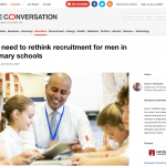 Gender imbalance: Recruiting more male teachers
