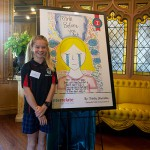Schoolgirl wins national art award with advice on bullying